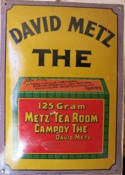 Dørskilt i blik David Metz