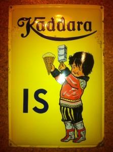 Kaddara IS. Grønlænderpige fra Nørre Aaby. Glud & Marstrand ca. 1935