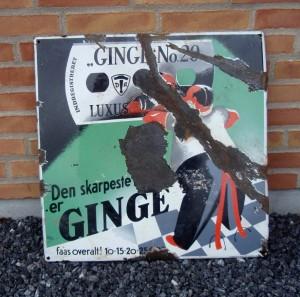 - Lettere patineret GINGEmand gravet op af jorden fornylig i Esbjerg ;-)